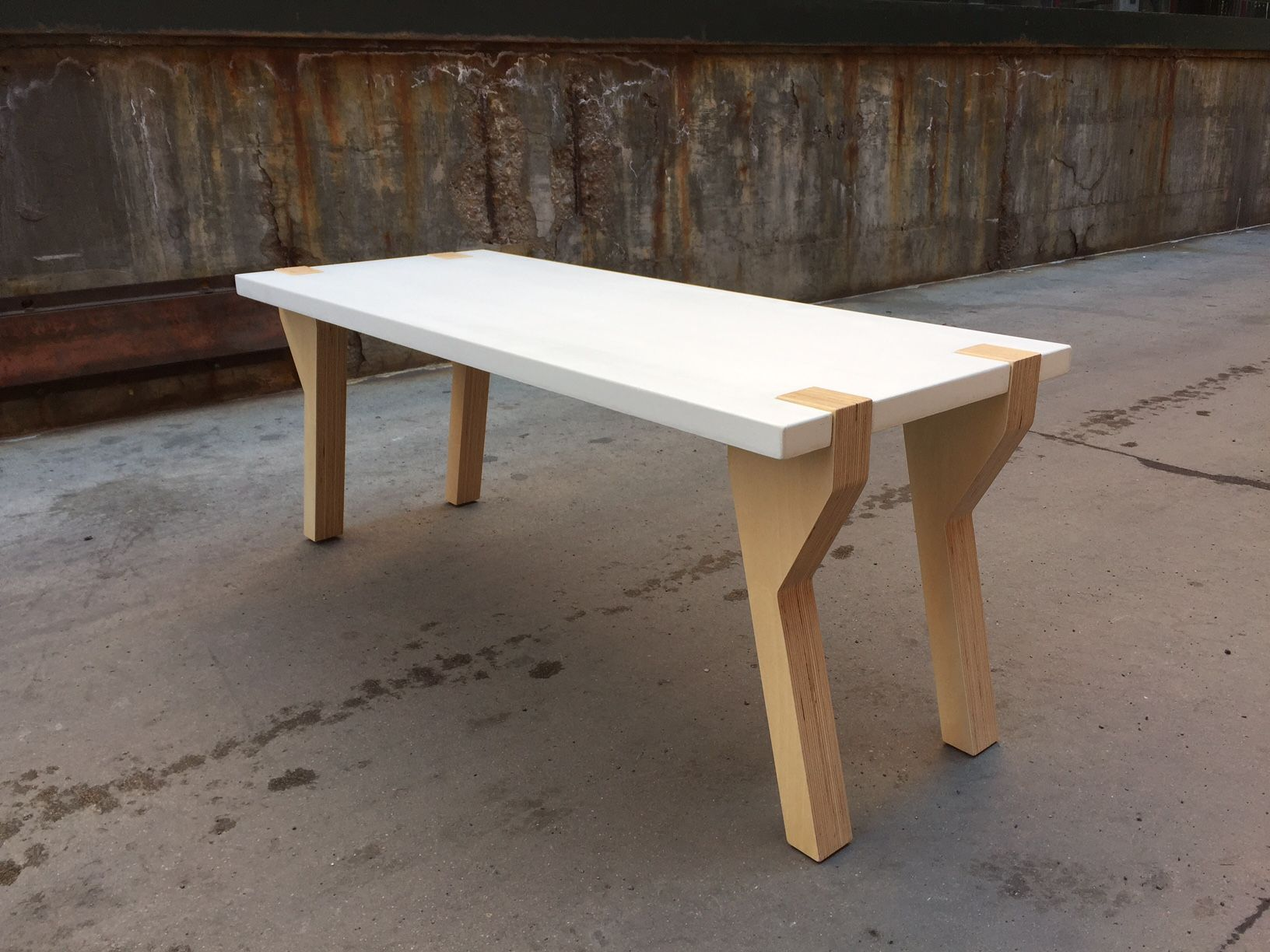 Custom Made Concrete Coffee Table