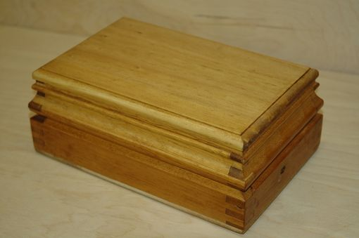 Custom Made Profiled Pine Box