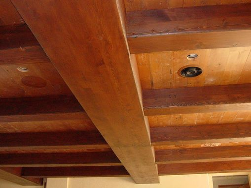 Custom Made Fir Box Beams