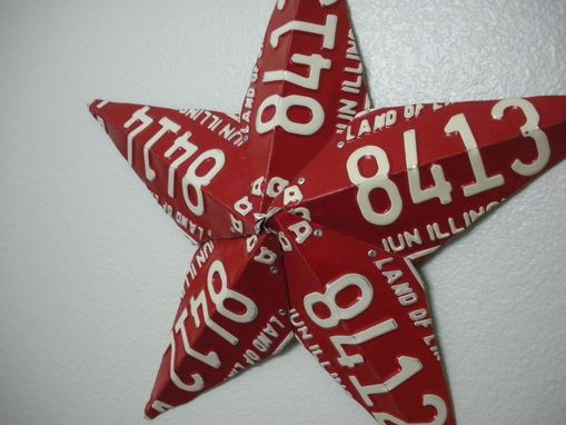 Custom Made Custom License Plate Barn Stars