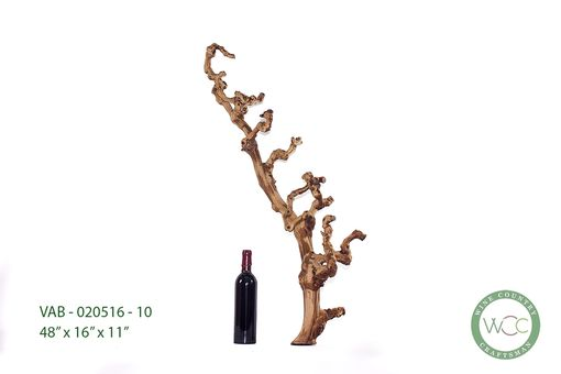 Custom Made Old Grape Vine Branch Standing Or Wall Display Art Vab 020516 10 From Far Niente Winery Napa Valley