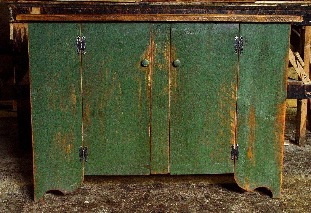 Handmade Primitive Cupboards By Carolina Farm Table