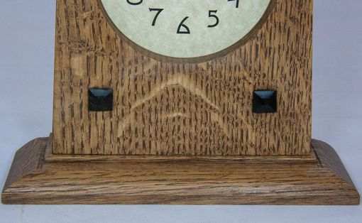 Custom Made Arts And Crafts Style Clocks