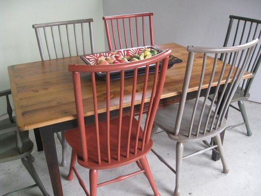 Custom Made Black Forest Dining Chair In 3 Colors