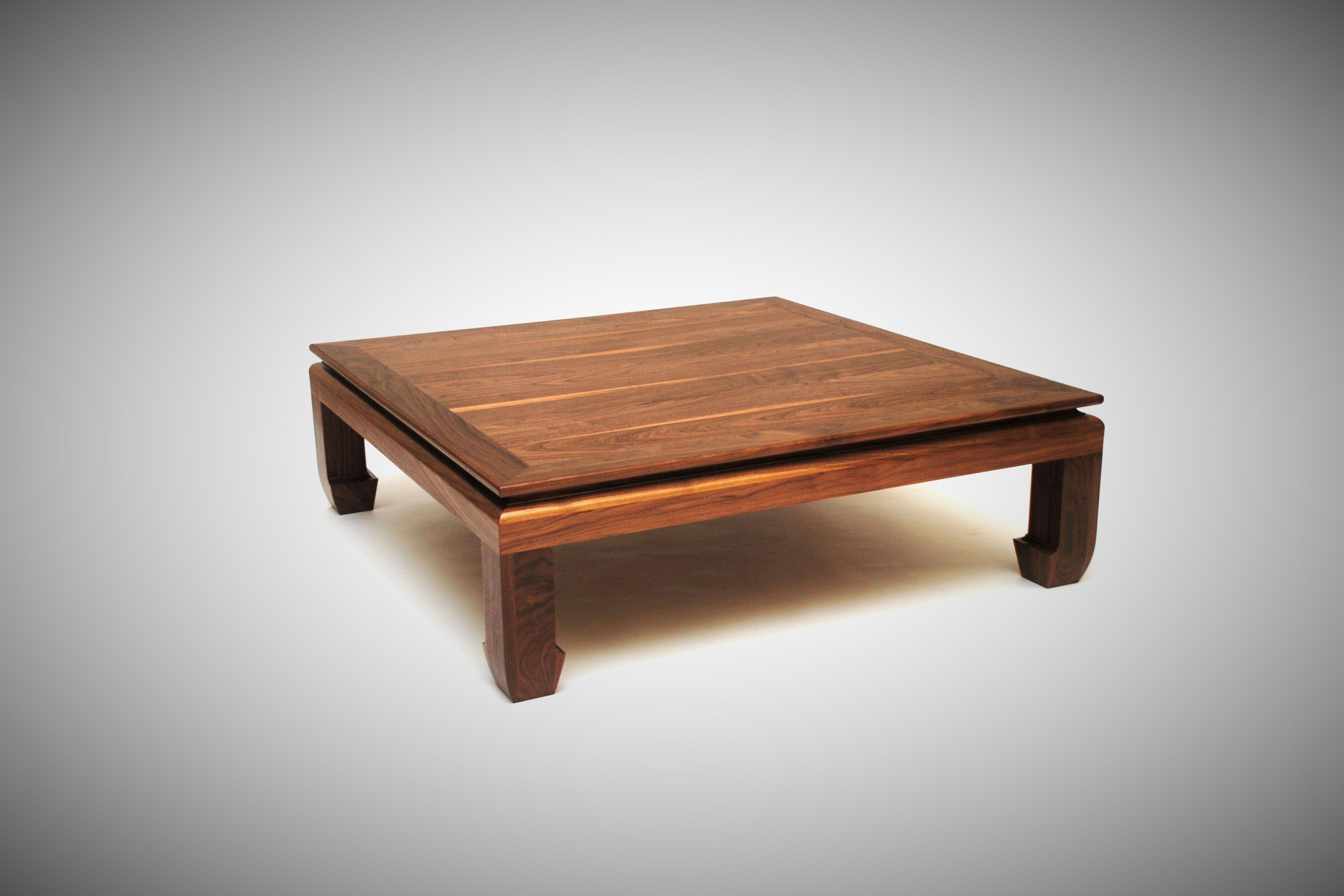 Hand Made Square Ming Coffee Table