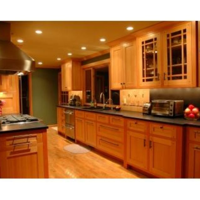 Fir Cabinets Modern Kitchen Vertical Grain Douglas Fir