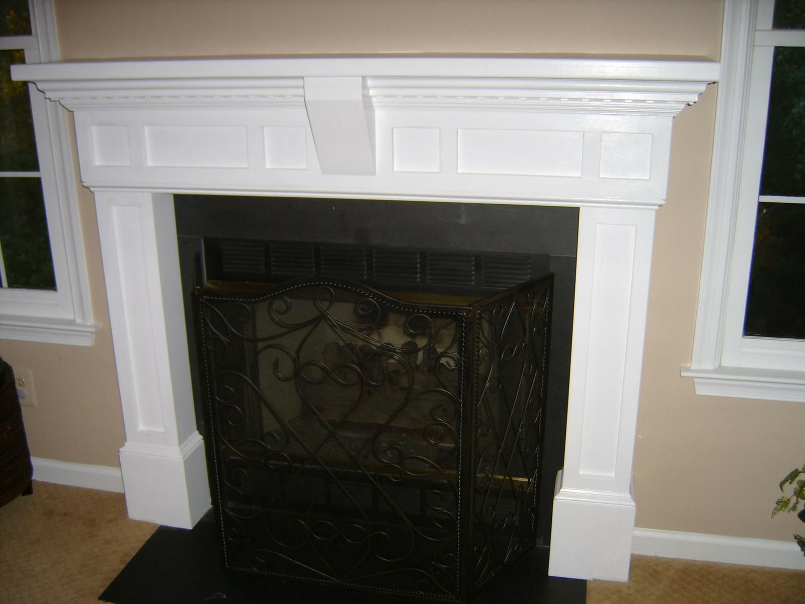 A fireplace mantel to fit your unique design specifications.…