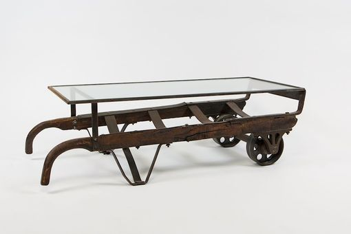Custom Made Coffee Table/Hand Truck Dolly