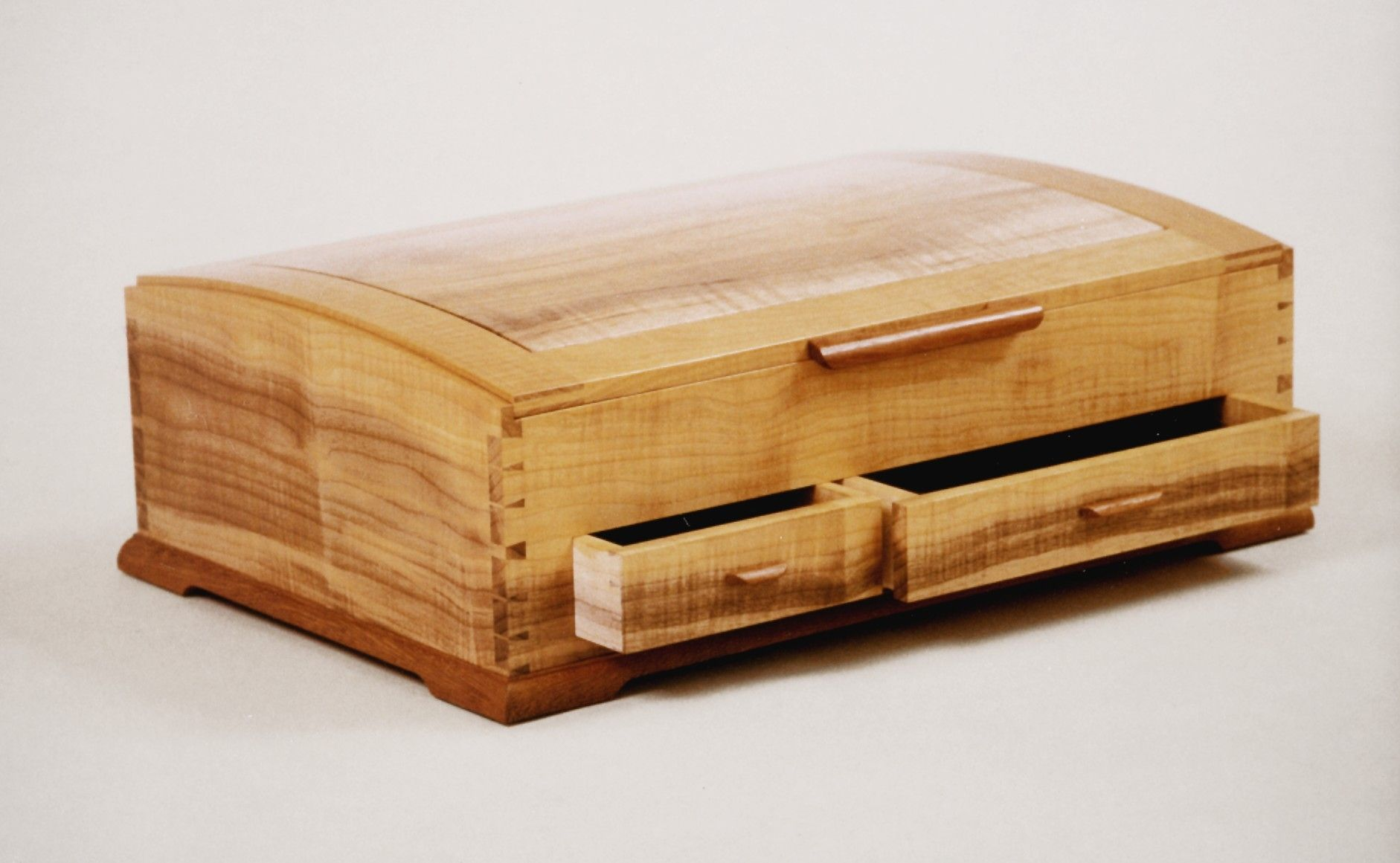 Handmade jewelry boxes by dan joseph woodworks for Jewelry box made of wood