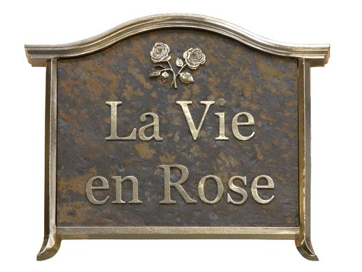 Custom Made Custom Bronze Sign