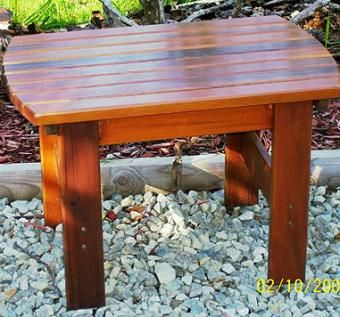 Custom Made Cape Cod Cedar Outdoor Furniture