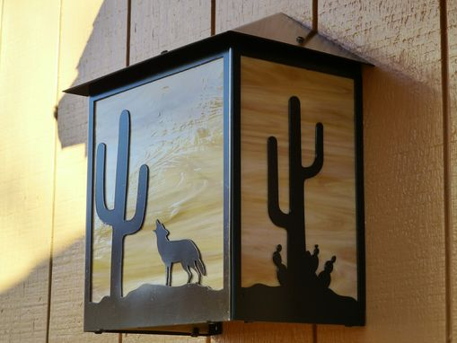 Custom Made Desert Skies Wall Light