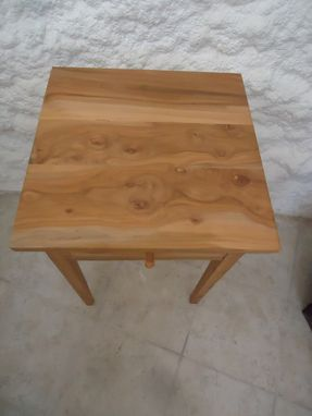 Custom Made Apple Wood Shaker Table