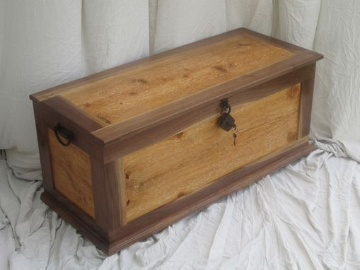Custom Made Sea Chest Blanket Trunk