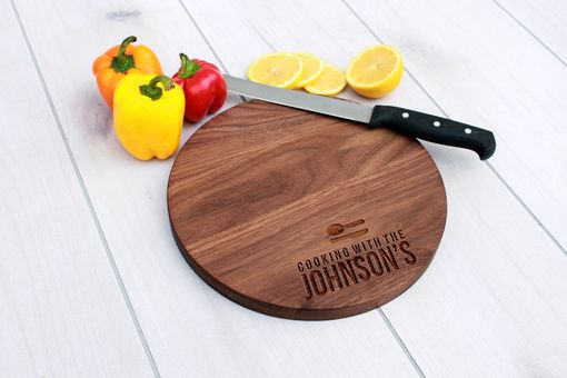 Custom Made Personalized Cutting Board, Cutting Board, Wedding Gift – Cbr-Wal-Cooking With The Johnsons Family
