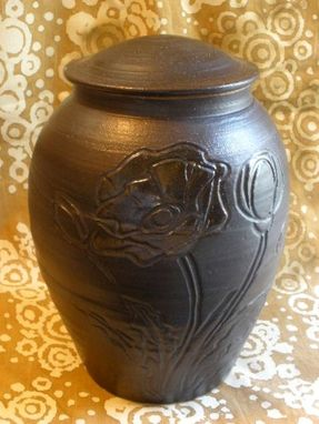 Custom Made Personalize Poppy Cremation Urn