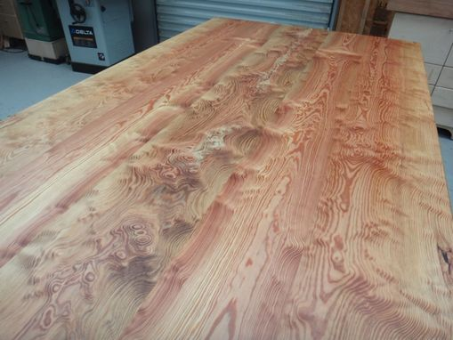 Custom Made River Pine Kitchen Work Table