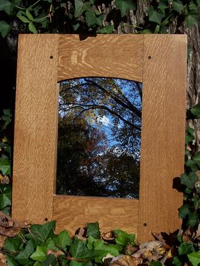 Custom Made Arts & Crafts Cloister Mirror