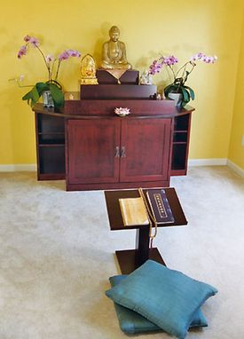 Custom Made Buddhist Altar By Michael Wolniewicz Custom