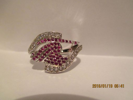 Custom Made Erza Skarlet Fairy Tail Anime Engagement Ring