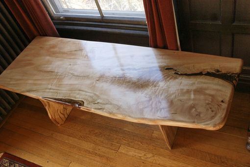 Custom Made Silver Maple Coffee Tables
