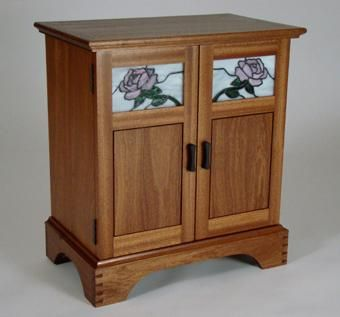 Custom Made Sapele Cabinet