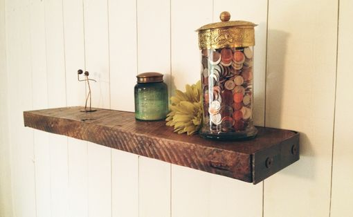Custom Made Reclaimed Floating Shelf