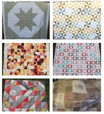 Custom Made Custom Wedding Guest Book Quilt