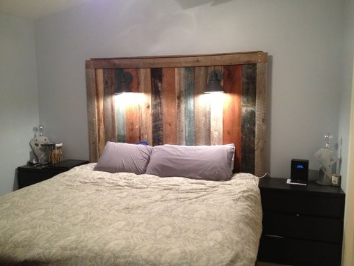 Custom Made Barnwood Headboard (Gage Collection)