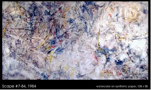 Custom Made Large Scale Abstract Watercolors