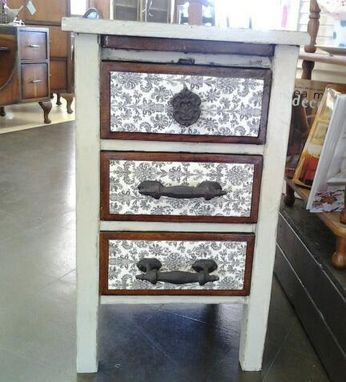 Custom Made Antique File Cabinet From 1900'S To 1920'S Revamped And Add On's