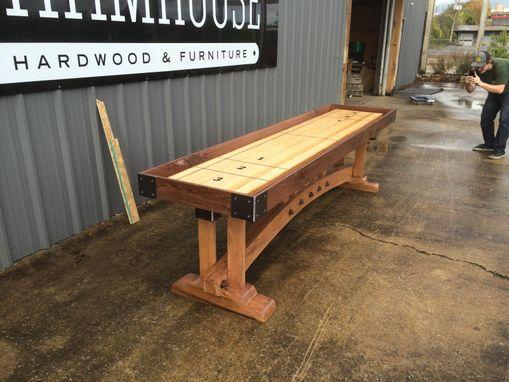 Buy A Custom Craftsman Shuffleboard Table Made To Order