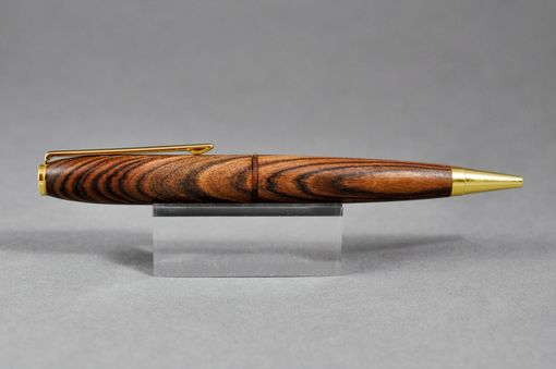 Custom Made Kingwood Twist Ballpoint Pen