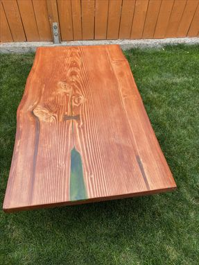 Custom Made Live Edge Outdoor Table