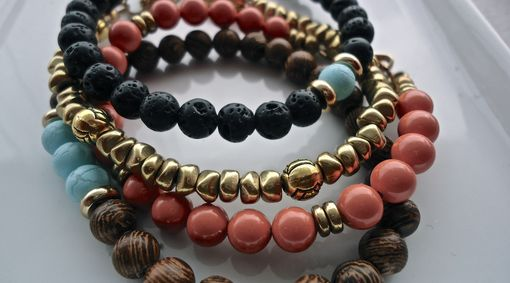 Custom Made Beaded Bracelets
