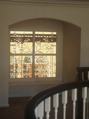 Custom Made Custom Home Or Office Stained Glass Window And Partitions. - Interior Home Installation
