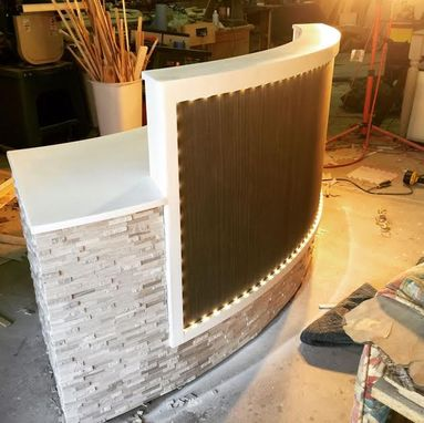 Custom Made Custom Built Reception Desks