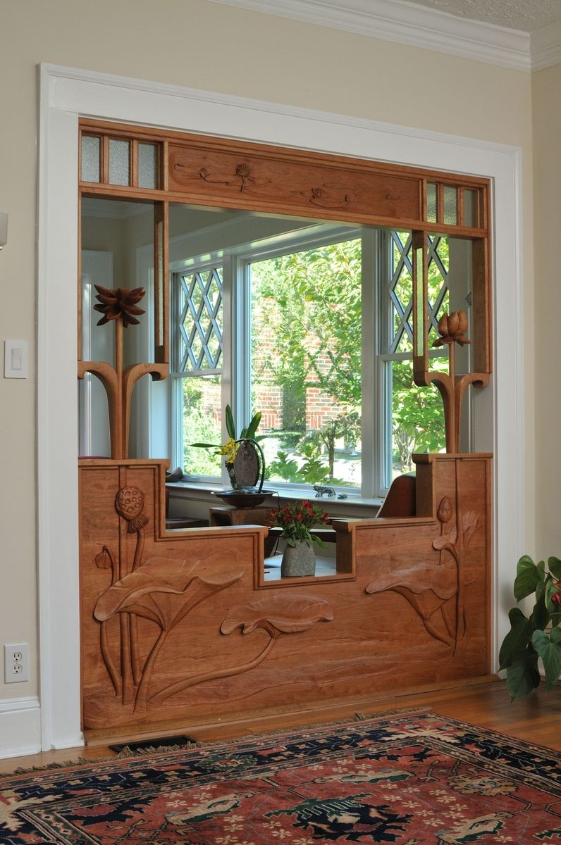 Handmade Screen Room Divider By Chrysalis Woodworks