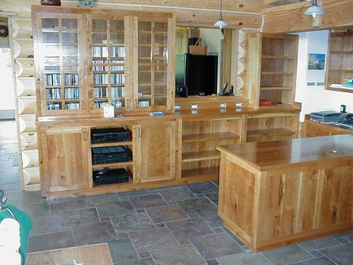 Custom Made Custom Hardwood Offices And Furniture