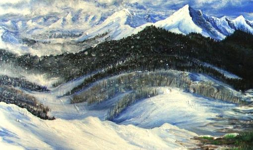 Custom Made Four Seasons-Snowboard Landscape