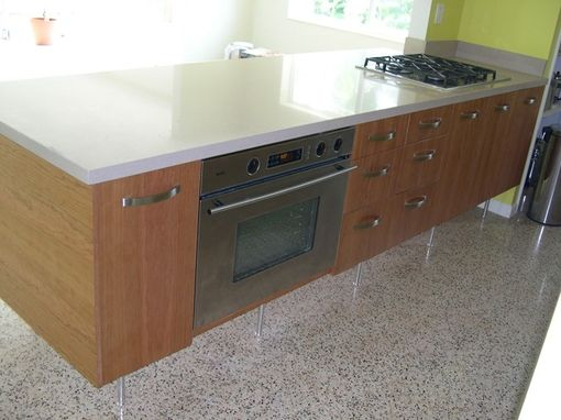 Custom Made Kitchen Cabinets, Miami 2001.