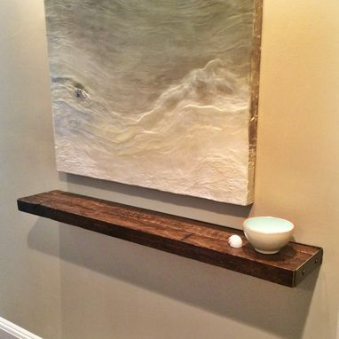 Custom Made Reclaimed Floating Shelf - Take 2