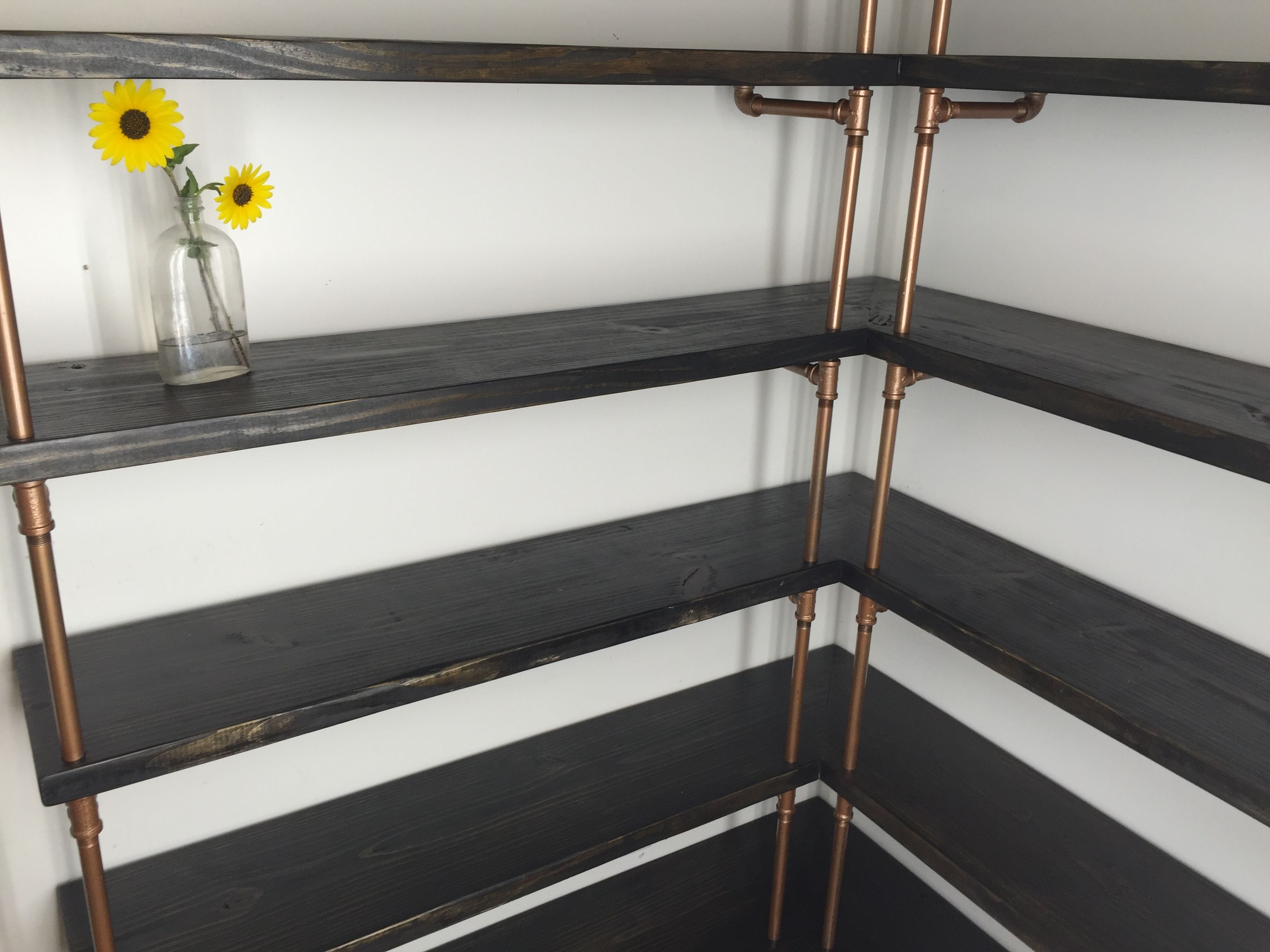 Buy A Custom Corner Pantry Shelving Made To Order From