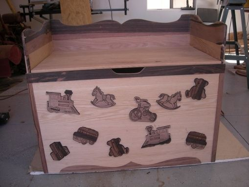Custom Made Toy Chest