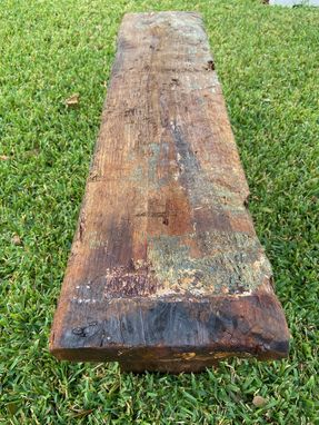 Custom Made Castaway Garden Bench