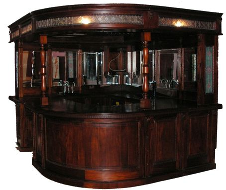 Custom Made Reproduction Old English Bar