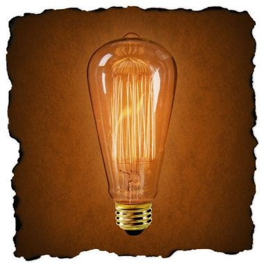 Custom Made Marconi Perma Glow Antique Light Bulb 60w