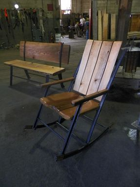 Custom Made Big Blackfoot Rocker #1