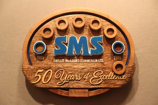 Custom Made Custom Wood Signs And Displays | Coin Display | Hand Carved Signs And Displays