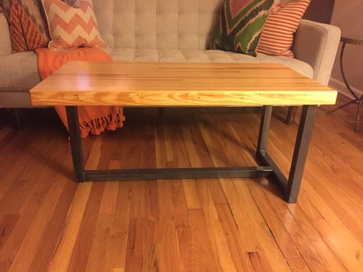 Reclaimed Bowling Alley Coffee Table